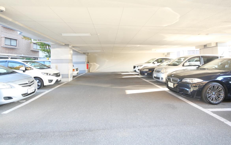 アーサー須玖リベックスⅡ_駐車場